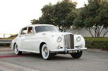 vintage bentley getaway car :)