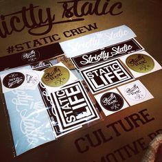 Strictly static sticker pack £4.99 👊🏼. S T A T I C - C R E…