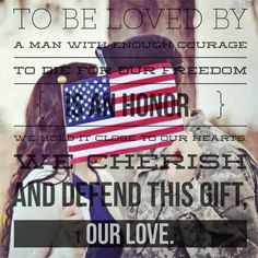 Military Love Quote