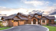 Home Plan HOMEPW77954 - 3959 Square Foot, 3 Bedroom 4 Bathroom Craftsman Home with 3 Garage Bays | Homeplans.com