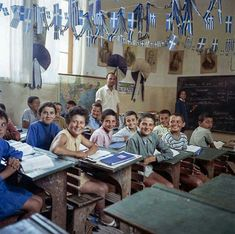 Back to school Greece Pictures, Greece Photography, Ancient Greek Art, Vintage School, The Old Days, Athens Greece, Greek Islands, Childhood Memories, Photo Art