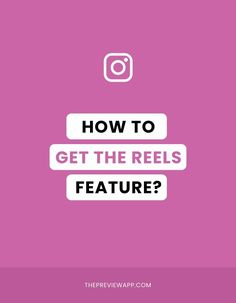 How to get Instagram Reels feature? Don't have it on your account yet? Or maybe Instagram Reeels disappeared on your account? Check out these tips and tricks. #instagramtips #instagramstrategy #instagrammarketing #socialmedia #socialmediatips