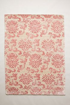Chinoiserie Rug #AnthroFave #PinkDecor