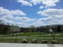 Slippery Rock University of PA, went here for band camp!