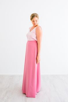 Two-pieces for bridesmaids. Tulleskirt for bridesmaids in many colors. Individual bridesmaids look. Bridesmaid Skirts, Bridesmaids, Two Pieces, Elegant, Maid Of Honor, Colors, Tops, Outfits, Fashion