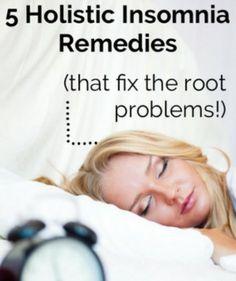 5 Holistic Insomnia Remedies   Improved Aging