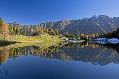 Family friendly hike to the picturesque Duisitzkarsee Lake in Obertal valley. Hotels, Austria, Hiking, Mountains, Holiday, Nature, Travel, Google Search, Amusement Parks