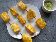 Salmon Tikka Kebabs