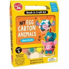 Image result for my egg carton animals