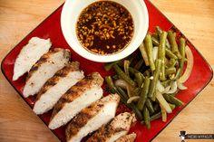 Grillowany kurczak 5 smaków z azjatyckim sosem (South Beach)
