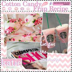 Cotton Candy Frap Recipe