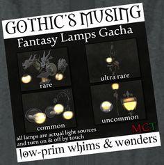 Gatcha - GOTHIC'S MUSING http://maps.secondlife.com/secondlife/Cursed/92/154/1004