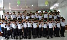 20 patrulleritos civicos juveniles inician su trabajo comunitario y educativo en Mocoa