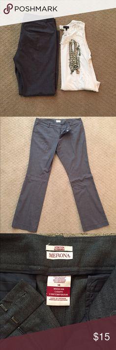 Dark Grey Merona Pants Dark grey Merona pants. Merona Pants Trousers