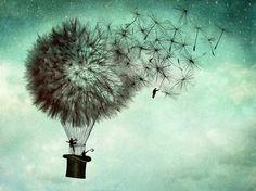 "black-tangled-heart: "" Illustrations by Catrin Welz-Stein • The Business Men's Goodbye • Moonwalk ""."