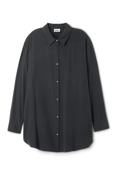 The Conform Cupro Shirt is an oversized shirt with a silky, cupro-like feel…