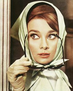Beautiful Eyelashes - Audrey Hepburn #beautytips