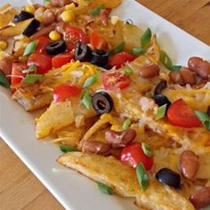 """Quick Potato Nachos 