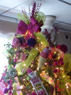 arbol de navidad de dulces