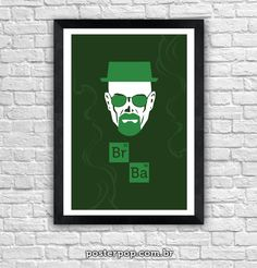 Poster Breaking Bad Br Ba