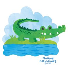 fhiona galloway illustration blog: croc