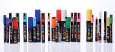 Want pens that work on multiple surfaces including plastic, metal, wood, glass and canvas? Look no further than Posca's fantastic selection! Available in a range of types and colours,…