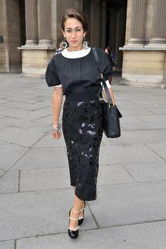 Delfina Delettrez Photos - Louis Vuitton: Front Row - Paris Fashion Week Spring / Summer 2012 - Zimbio
