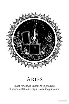 Aries - Shitty Horoscopes Book XI: Illuminate by musterni
