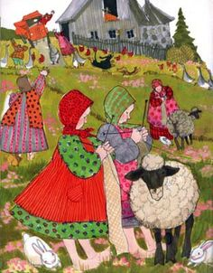 Illustration Famous illustrators depict knitting - illustration by Patricia Polacco Knitting Humor, Knitting Projects, Illustration Artists, Children's Book Illustration, Illustration Children, Patricia Polacco, Knit Art, Naive Art, Whimsical Art
