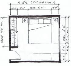 Planning a bedroom is a fun exercise of managing dimensions, rules of thumb, and practical advice. Here are my tips and guides on how to size a bedroom. King Size Bed In Small Room, King Size Bed Dimensions, Bedroom Dimensions, Small Room Layouts, Bedroom Layouts, Bedroom Ideas, Bedroom Size, Bedroom Decor, Bedrooms