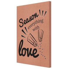 Tablou Canvas -Season love with everything - Monkeez Everything, Seasons, Love, Canvas, Color, Amor, Tela, Seasons Of The Year, Colour