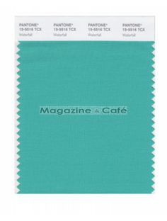 Pantone Smart 15-5516 TCX Color Swatch Card, Waterfall - Pantone
