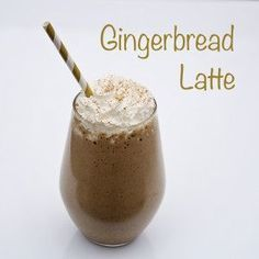 Gingerbread Latte Shakeology recipe, a delicious and healthy treat! Perfect for fighting those holiday cravings! 21 day fix approved. Vegetarian Chocolate, Chocolate Recipes, Low Carb Protein Shakes, Gingerbread Latte, Gingerbread Recipes, Coconut Hot Chocolate, Chocolate Shakeology, Clean Eating Challenge, Meal Replacement Shakes