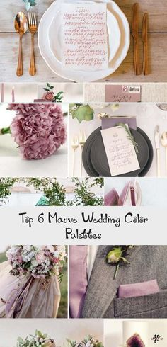 It's not Pantone's color of the year, but Mauve is definitely the lovely and stylish one in the whole purple family. It's more gentle and warm paired with plum, which makes it suitable for almost any wedding theme in any season. With the under... #RusticBridesmaidDresses #BridesmaidDressesTurquoise #GoldBridesmaidDresses #MixAndMatchBridesmaidDresses #BridesmaidDressesSequin