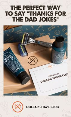 This Father's Day, give Dad a gift he can use: the Dollar Shave Club Father's Day Shave Set. It includes everything he'll need for a delightful shave from start to finish. It's got the 6-blade Executive Razor, Dr. Carver's Shave Butter, and Dr. Carver's Post-Shave Cream. Choose a 3, 6, or 12 month Membership and we'll keep the fresh blades coming, so Dad can shave with a fresh blade any time he wants.