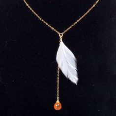 Sunset Flight Necklace Carnelian now featured on Fab.