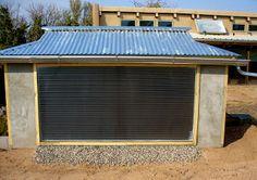 Building a Solar Heated Well House