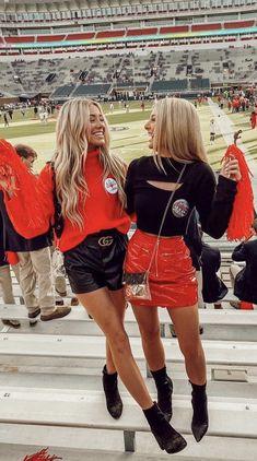 Football Fashion, Football Outfits, Sporty Outfits, Fall Outfits, Cute Outfits, College Football Games, Football Girls, College Fashion, College Outfits