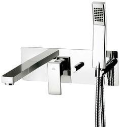 Blikvanger voor uw badkamer? Misschien kan het deze strakke mengkraan met gesloten hendel voor bad en/of douche uit de serie Elle (verkrijgbaar bij Desco) wel zijn. Meer info: www.desco.be