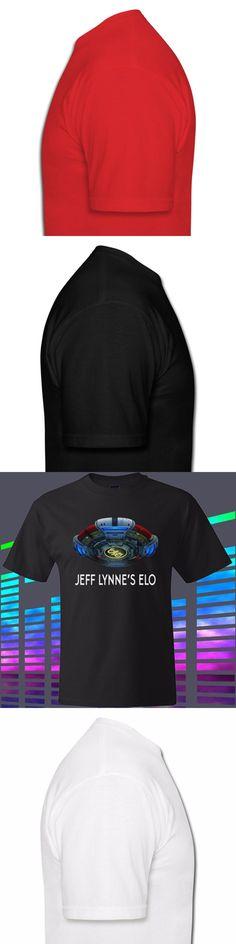 Gildan New Jeff Lynne ELO Electric Light Orchestra Men's Black t-shirt Size S to 3XL men's t-shirt