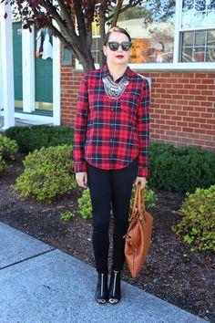 Yaudy's Style: Plaid and Zippers