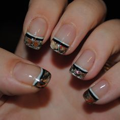 Nail Art Designs For Short Nails - be the center of attention with your cool nails in every party!