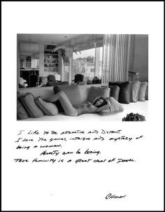 """Jim Goldberg, """"I like to be attractive and distant. I love the games, intrigue and mystery of being a woman. Honesty can be boring. True femininity is a great deal of power."""", San Francisco, from Rich and Poor Photography Projects, Art Photography, Jim Goldberg, Duane Michals, Everything Stays, Photo Sketch, Photographer Portfolio, Magnum Photos, Photo Essay"""