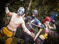 Borderlands characters at Connichi 2012