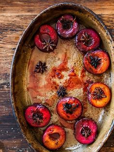 Roasted Spiced Plums :  williams-sonoma #recipe