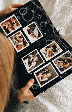 Photo Album Scrapbooking, Scrapbook Albums, Bullet Journal Ideas Pages, Bullet Journal Inspiration, Friend Scrapbook, Couple Scrapbook, Anniversary Scrapbook, Cute Birthday Gift, Diy Birthday