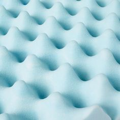 Slumber Solutions Gel Big Bump 4inch Memory Foam Mattress Topper Blue Queen * Find out more at the image link. #MattressToppers