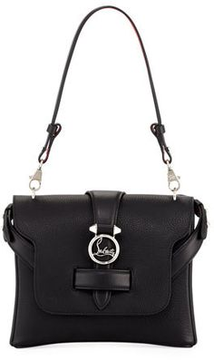 ed139ecdd4c Christian Louboutin Rubylou Small Calf Leather Shoulder Bag Smaller Calves