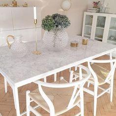 Kasenbergs matbord hemma hos @nyahemmet  #kasenberg #marmorbord #marmor #matbord #kasenbergbord #kasenbergdesign