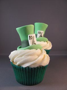 Mad Hatter Hats by zoeycakes, via Flickr